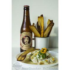 Nuestra carta cada dia toma mas forma y siempre pensando el maridaje perfecto con las mejores cervezas artesanas. En este caso Ceviche de la casa con chips de platano. Acompañado de una excelente Lager de @cervezalavirgen que va perfectamente. Pronto!  #beershooter #malasaña #cervezaArtesanal #ipa #paleale #stout #lager #pilsen  #madridmemola #malasañamola #malasana #madrid #beer #beerporn  #beerlover  #craft #beers #beergasm  #beerstagram #craftbeerlover #beergeek #local #cervezaArtesana…
