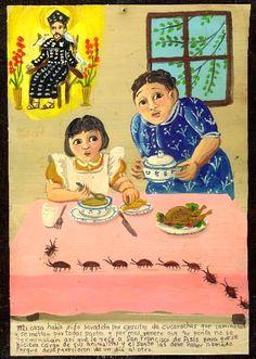 Мой дом заполонили тараканы. Они ползали повсюду, в каждом уголке дома. Какие бы средства и отравы я не использовала против них — ничего не помогало. Тогда я взмолилась Святому Франциску Ассизскому, чтобы он как-нибудь справился с подручными ему тварями. И святой, видимо, призвал их, потому что на следующий день они все куда-то ушли.
