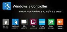 Windows 8 Controller (Server + Client App) Now control your windows 8 from ur Android Mobile or Tablet