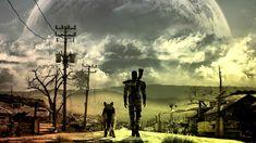 General 1920x1080 Fallout Fallout 3 moonlight dog apocalyptic street ruin video games colorful artwork digital art fan art