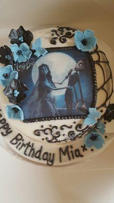 Corpse bride cake