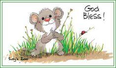 God Bless! ,,, Suzy's Zoo