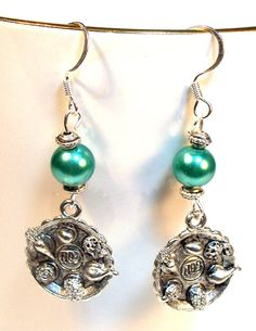 Passover Earrings Seder Plate by lindab142 on Etsy, $16.00
