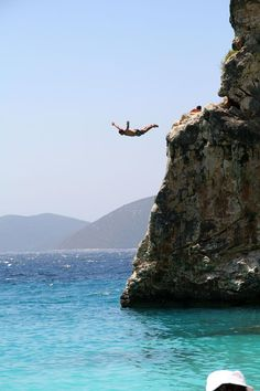 Diving in Agiofylli beach, Lefkada island ~ Greece