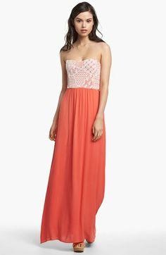 Ella Moss Strapless Maxi Dress