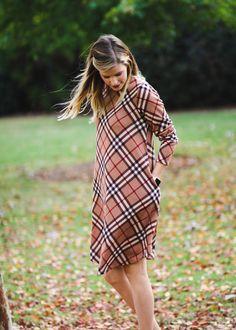 365838efad2f3 Super cute winter plaid dress! Plaid Dress, Epiphany, Winter Fashion,  Scottish Dress