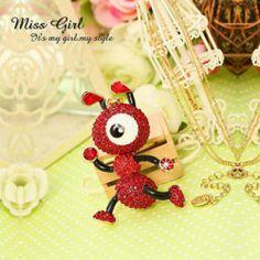 Rhinestone Ant Pendant Miss Girl, Cheap Jewelry, Ants, Pearl Jewelry, Crochet Necklace, Pearls, Diamond, Pendant, Accessories