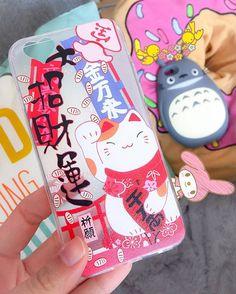 ACHTUNG!!! Ich verkaufe diese 2 Handyhüllen für das Iphone 6/6s. Ich benutze sie leider zuwenig oft.   Hätte gerne für beide je 7€. Wenn sie wer bei mir abholt kommt der Versand natürlich weg. #totoro #ghibli #neko #manekineko #iphonecase #3dcase #igerstirol #kawaii #cute #japanlover