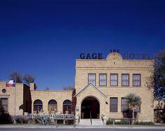 Gage Hotel near Big Bend National Park, Marathon, Texas
