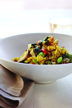Celebrate Meatless Monday with Vegetable Risotto with Quinoa, Wholeliving.com