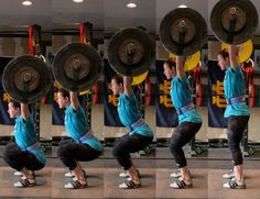 The Snatch is the world's fastest lift. In addition to moving the weight quickly, the snatch also moves the weight a long distance - from the ground all the way overhead. The snatch not only trains power, but is an excellent developer of balance, flexibility, coordination, speed and strength.