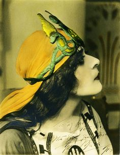 Theda Bara as Cleopatra, by Albert Witzel, 1917.