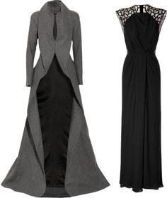 """1950s Evening Wear"" by cassandreshepherd on Polyvore"