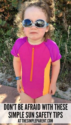 Have fun in the sun without worry! Sun safety for kids is easy with these simple tips! Get outside and enjoy time together while taking care of everyone! Natural Parenting, Kids And Parenting, Parenting Hacks, Summer Safety Tips, Bad Sunburn, Small Minds, Kids Hats, Get Outside, Latest Video