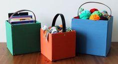 Caixas Organizadoras de Papelão Decoradas Passo a Passo | Reciclagem no Meio Ambiente