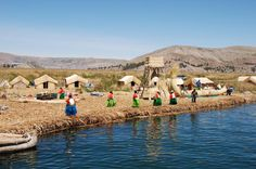 Lake Titicaca Day Tour Visit Taquile Island where you will see an indigenous community that has conserved its original traditions and organization. And in addition make a stop at the famous Uros reed islands.This tour begins between 6:00-7:00am with a transfer from your Puno City Center hotel to the port. Then by motor boat (35 feet long with a covered section in case of rain or cold weather, 25 individual seats) you'll head out to the Uros floating Islands. Stepping on t...