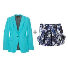 Short suits for spring.