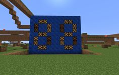 Day Counter, a Minecraft creation. Minecraft Redstone, Minecraft Creations, Henri, Counter, Projects To Try, Star Wars, Board, Day, Starwars