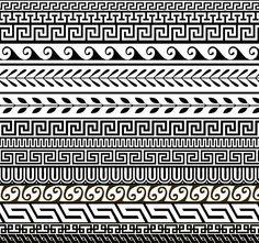 Greek Designs   14 Free Greek Ornament Patterns