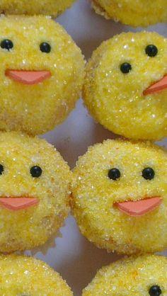 little chicken cupcakes