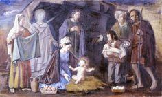 Artgate Fondazione Cariplo - Filocamo Luigi, Natività.1970 circa Tecnica olio su tela Ubicazione Collezioni d'arte della Fondazione Cariplo, Milano--