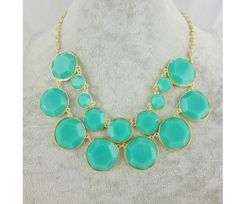 New Arrival Hot Selling Fashion Round Resin Bib Necklace A1652C | eBay