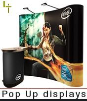 Buy your products online. Display stand Specialists. High quality portable display stand systems at online prices straight from stock. From exhibition pop up display stands, banner stands, literature dispensers, vinyl banners, folding displays, iPad kiosks and a range of pavement signs, pull up displays and other point of purchase equipment.
