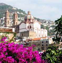 Taxco, Mexico.  Beautiful little place in the middle of nowhere.  Silver mining town.  Southwest of D.F.