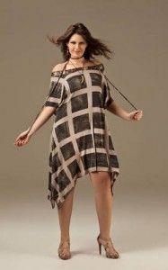moda gordinhas  vestido de verão