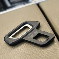 1 STÜCK Hohe Qualität Auto sicherheitsgurt clip Autositz gürtelschnalle Fahrzeug montiert Flaschenöffner Dual-use-freies verschiffen