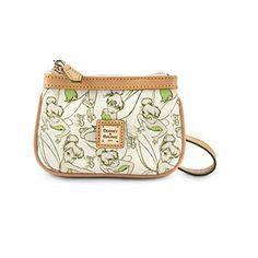 Women's Wristlet Handbags - Disney Tinkerbell Tinker Bell Wristlet by Dooney  Bourke 2014 Marathon -- For more information, visit image link.