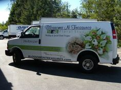 BLOSSOM TRUCK WRAP