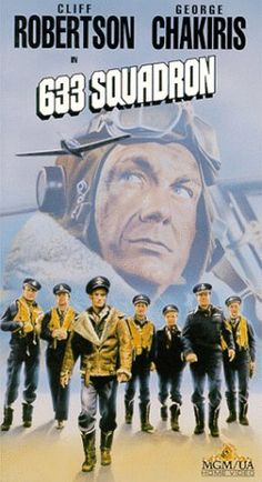 633 SQUADRON - An RAF squadron is assigned to knock out a German rocket fuel factory in Norway. Turner Classic Movies, Classic Movie Posters, Classic Films, Old Movies, Vintage Movies, Great Movies, Cinema Posters, Film Posters, Love Movie