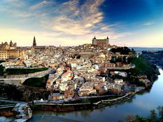 Toledo, Spain ~ A beautiful, moated city with the pretty cool Plaza de Zocodover