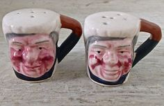Antiquité Collection Ensemble salière-poivrière porcelaine Japon Lévis…