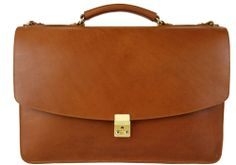The Wall Street briefcase   Frank Clegg Leatherworks