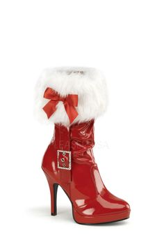 Exotic Role Play Costumes: Sexy Santa Boots