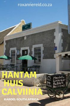 Hantam Huis in Calvinia, Karoo - hotel, restaurant and museum in one Slow Travel, Us Travel, All About Africa, South Afrika, Eternal Sunshine, Big Sky, Afrikaans, Paladin, Africa Travel