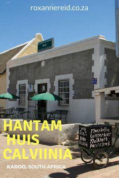Hantam Huis in Calvinia, Karoo - hotel, restaurant and museum in one