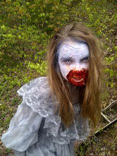 http://www.zombietrailrun.ca/  Zombie from the 5 km Zombie Trail Run Waverley,  Nova Scotia