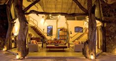 #Luangwa #Safari #House is reserved for one group at a time. The house activities are laid on exclusively for you making it an ideal base for families and friends. Sleeping a maximum of eight, the four spacious bedrooms have your comfort in mind and are equipped with en-suite facilities. Relax over dinner and drinks at the delightful dining and lounge area, take a dip in the pool, or soak up the views on a purpose built platform. #Africa