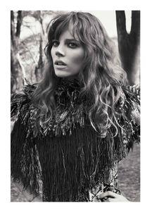 visual optimism; fashion editorials, shows, campaigns & more!: nomade: freja beha erichsen by glen luchford for vogue paris april 2014