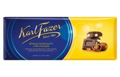 Fazer hazelnut choc - a personal favourite