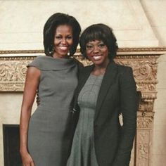 Viola Davis Thanks Michelle Obama For Her Light  - The Week In Celebrity Instagrams: Stars Share Their Favorite Photos With The Obamas