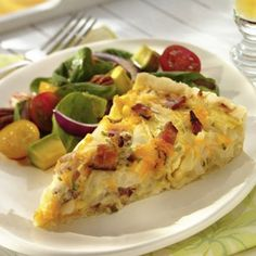 Try our recipe for Wisconsin Cheddar, Onion and Bacon Tart. The recipe is similar to a Breakfast Pizza. Tart Recipes, Cheese Recipes, Yummy Recipes, Yummy Food, Food Network Recipes, Food Processor Recipes, Cooking Onions, Wisconsin Cheese, Tailgating Recipes