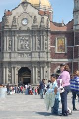 Basilica of Guadalupe, Mexico City. Mexico life, culture and faith
