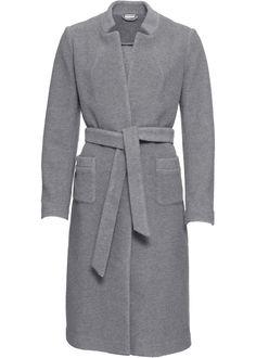 Manteau long matelassé aspect diamant noir bpc bonprix