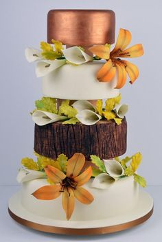 Autumn - Cake by Cakes For Show