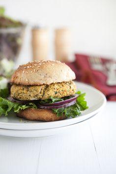 Naturally Ella   Chickpea and Spinach {Veggie} Burgers   Naturally Ella