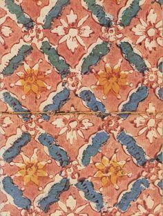 """Piccarda Quilici, """"Carte decorate nella legatoria del '700 dalle raccolte della Biblioteca Casanatense"""", papier dominoté"""